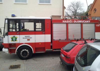 polep auta hasici
