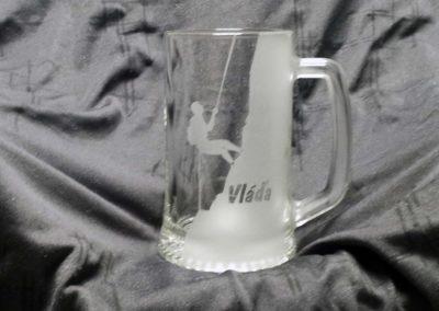 sklenice horolezec