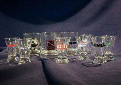 reklamní firemní sklenice